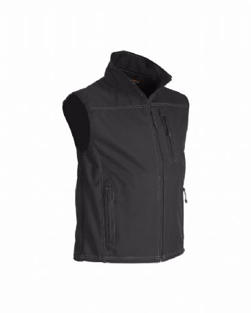 CLEARANCE Blaklader 8170 Waistcoat Softshell (Black) MEDIUM